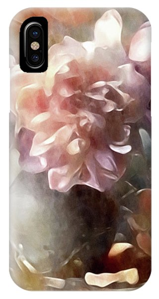 IPhone Case featuring the mixed media Soft Pastel Peonies by Susan Maxwell Schmidt