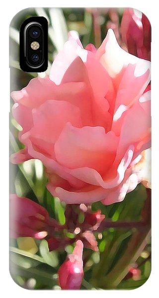 Soft Pink Blush IPhone Case