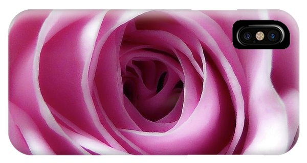 Soft Pink Rose 4 IPhone Case
