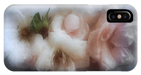 Soft Pink Roses IPhone Case
