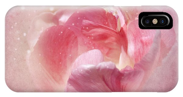 Soft Pink Tulips IPhone Case
