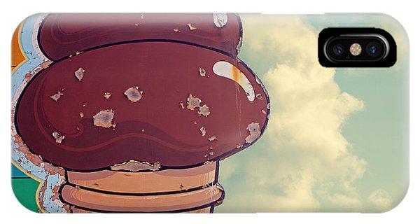 Ice Cream iPhone Case - Soft Serve - Ice Cream Cone Art by Melanie Alexandra Price