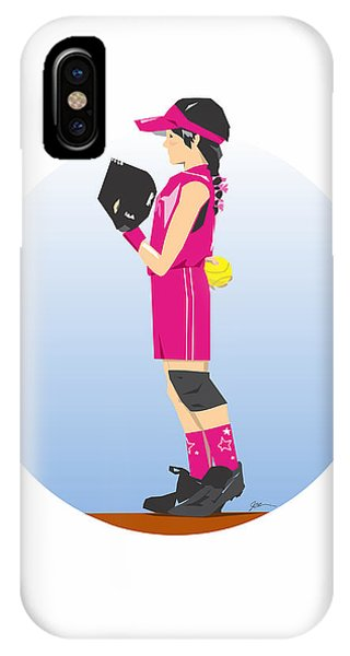 Softball Pinkie IPhone Case