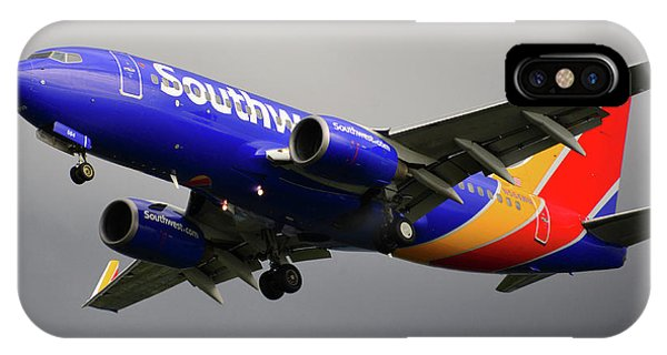 iPhone Case - Southwest Arlines by David Lee Thompson