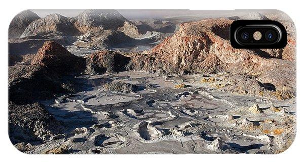 Sol De Manana Geothermal Field  IPhone Case