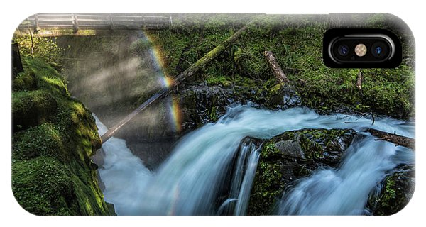 IPhone Case featuring the photograph Sol Duc Enchantment by Expressive Landscapes Fine Art Photography by Thom