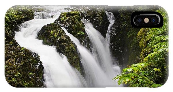 Sol Duc  Falls Washington Usa IPhone Case