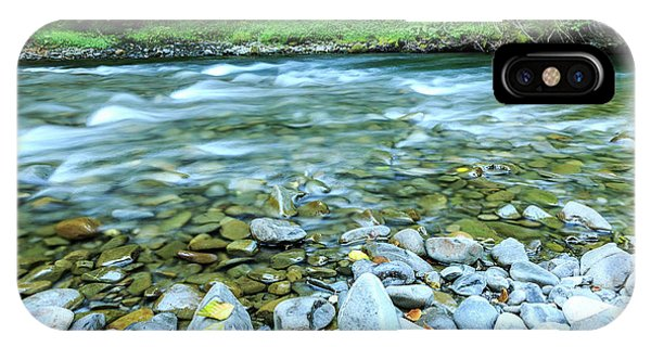Sol Duc River In Summer IPhone Case