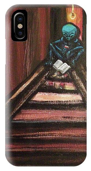 Solamente Alien IPhone Case