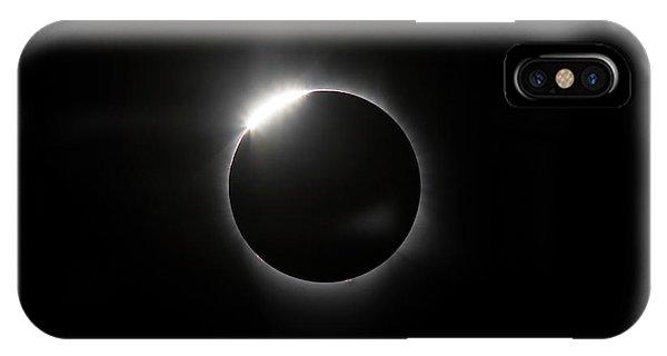 Solar Diamond Ring IPhone Case