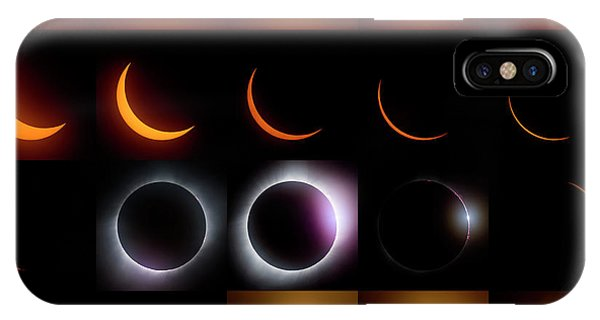 Solar Eclipse - August 21 2017 IPhone Case