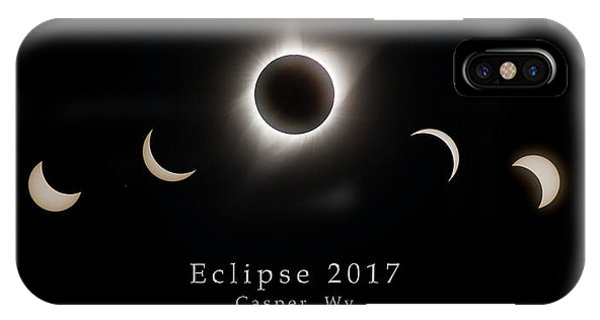 IPhone Case featuring the photograph Solar Eclipse Collage 2 by Rikk Flohr