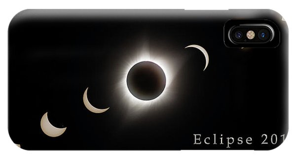 IPhone Case featuring the photograph Solar Eclipse Collage 3 by Rikk Flohr