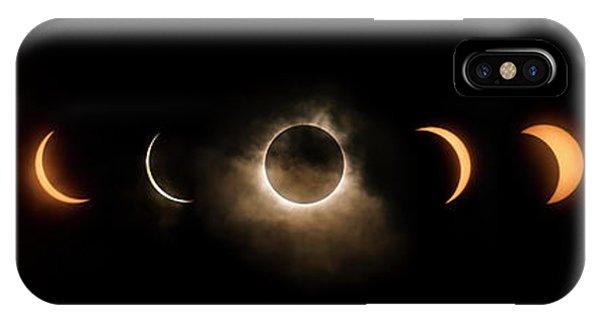 Solar Eclipse Progression IPhone Case