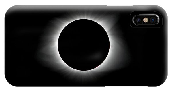 Solar Eclipse Ring Of Fire IPhone Case