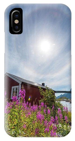 Solar Halo Above Rorbu IPhone Case