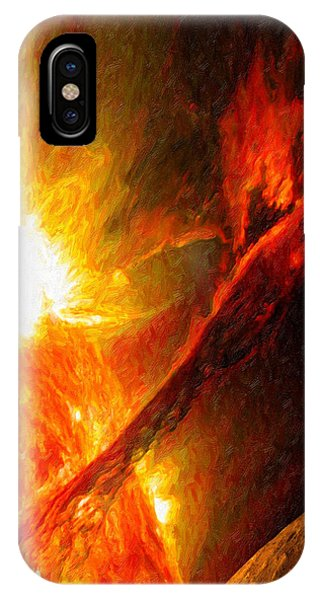 Solar Mass Ejection IPhone Case