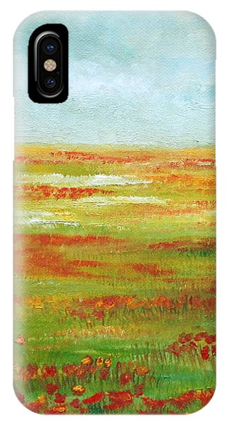 IPhone Case featuring the painting Solarized by Angeles M Pomata