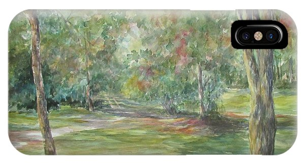 Sold River Nature Trails IPhone Case