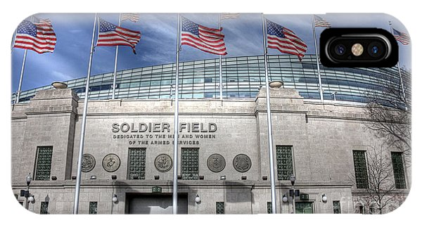 Soldier Field IPhone Case