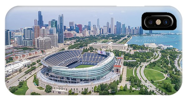 IPhone Case featuring the photograph Soldier Field by Sebastian Musial
