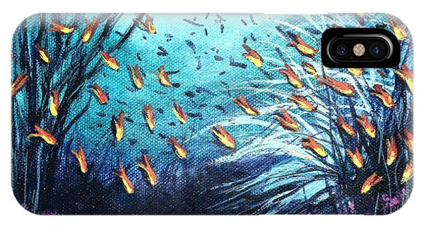 Soldier Fish And Coral  IPhone Case