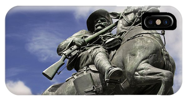 Soldier In The Boer War IPhone Case
