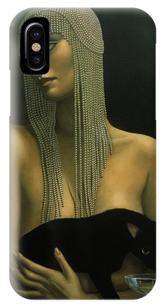 Detail iPhone Case - Solitare by Jane Whiting Chrzanoska
