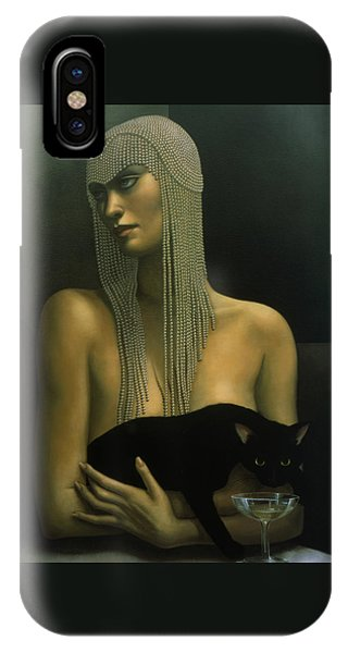 Eyes iPhone Case - Solitare by Jane Whiting Chrzanoska