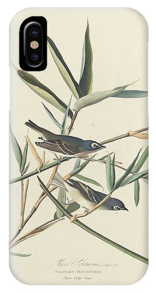 Solitary Flycatcher IPhone Case