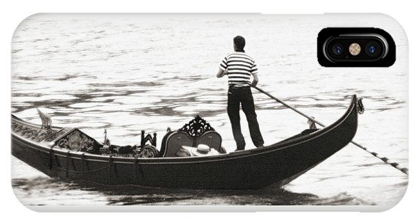 Solitary Gondolier IPhone Case