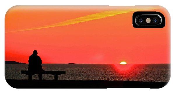 Solitude At Sunrise IPhone Case