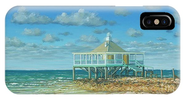 Tiki Bar iPhone Case - Solitude In Paradise by Danielle Perry