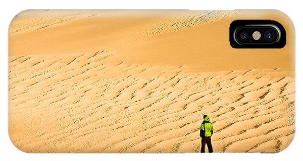Solitude In The Dunes IPhone Case