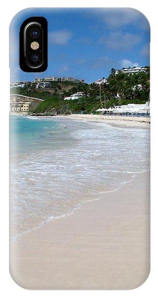 Solitude On Dawn Beach IPhone Case
