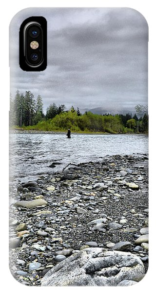 Solitude On The River IPhone Case