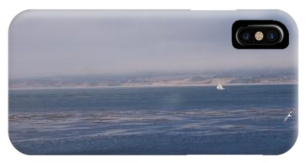 iPhone Case - Solo Sail In Monterey Bay by Pharris Art