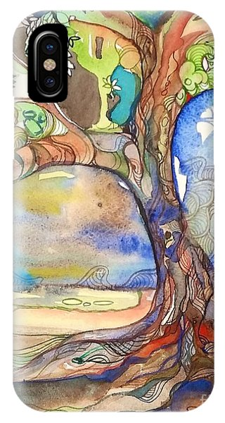 Solo Tree Phone Case by Maya Simonson
