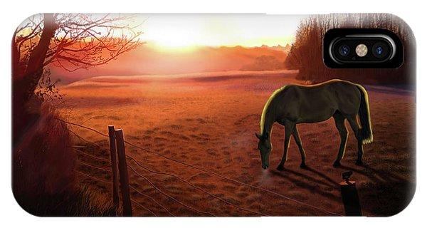 Solstice Sunrise IPhone Case