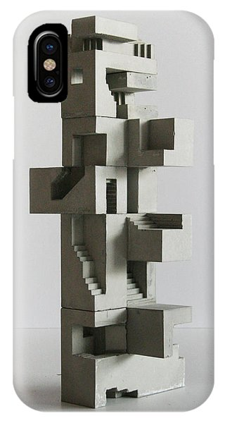 Soma Structure 5 Phone Case by David Umemoto