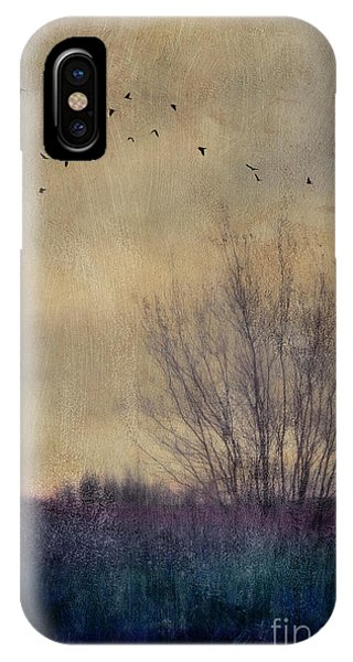 Gloomy iPhone Case - Somber by Priska Wettstein
