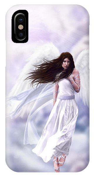Beam iPhone Case - Some Clouds Have Wings by Stephanie Shimerdla