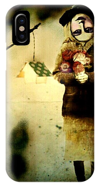 IPhone Case featuring the digital art Some Days Are Like That by Delight Worthyn