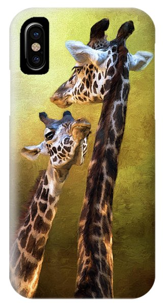 IPhone Case featuring the photograph Someone To Look Up To - Wildlife Art by Jordan Blackstone