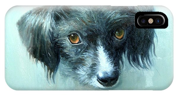 IPhone Case featuring the painting Someones Pet by Mel Greifinger
