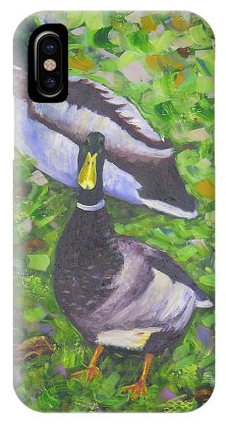 Somerset Ducks IPhone Case