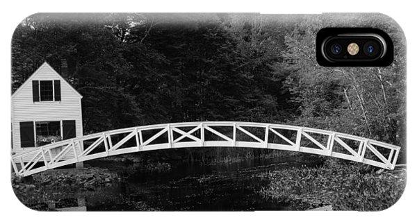 Somesville Bridge In Acadia National Park IPhone Case