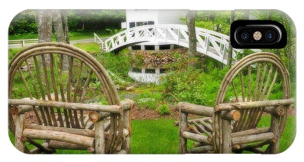 Somesville Maine - Arched Bridge IPhone Case