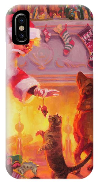 Santa Claus iPhone Case - Something For Everyone by Steve Henderson