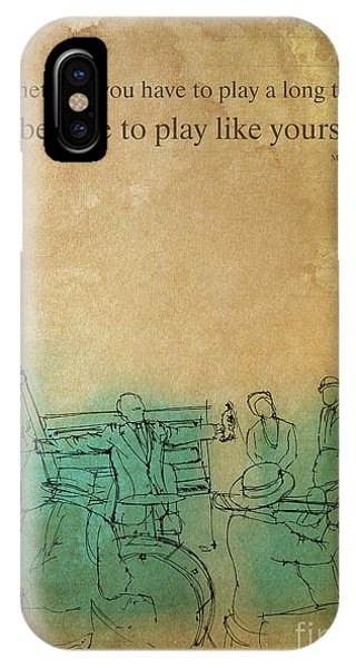 Pub iPhone Case - Sometimes You Have To Play by Drawspots Illustrations